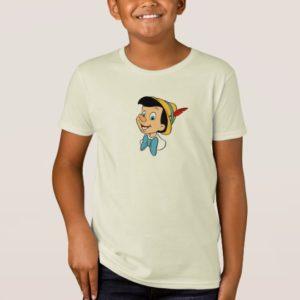 Pinocchio smiling head shot Disney T-Shirt