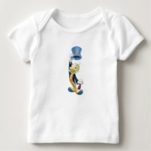 Jiminy Cricket Lifting His Hat Disney Baby T-Shirt