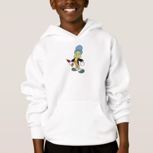 Disney Pinocchio Jiminy Cricket standing Hoodie