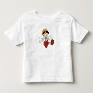 Pinocchio Shrugging His Shoulders Disney Toddler T-shirt