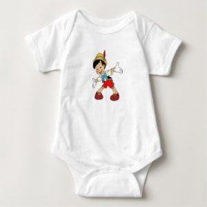 Pinocchio Pinocchio smiling Disney Baby Bodysuit