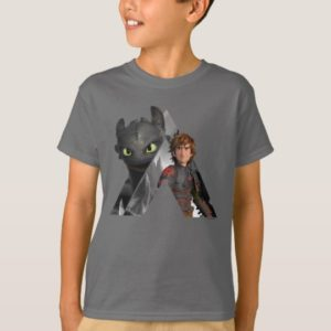 Alpha Dragon Toothless & Hiccup T-Shirt