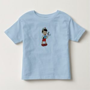 Pinocchio with Jiminy Cricket Disney Toddler T-shirt