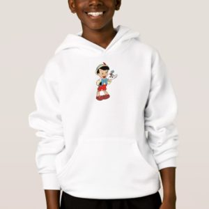 Pinocchio with Jiminy Cricket Disney Hoodie