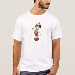 Pinocchio walking happy Disney T-Shirt