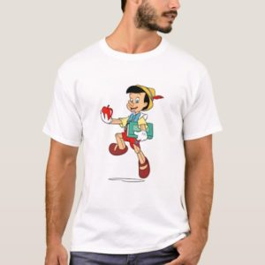 Pinocchio Pinocchio walking to school Disney T-Shirt