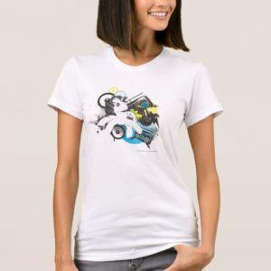 Retro Stereo Design T-Shirt