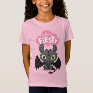 """""""Cute And Fiesty"""" Toothless Graphic T-Shirt"""