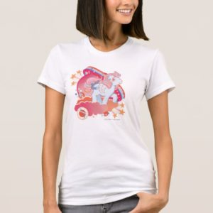 Retro Clouds  Design T-Shirt