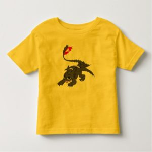 Toothless Crouch Illustration Toddler T-shirt