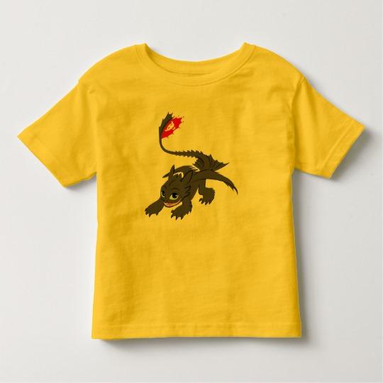 681a226fb Toothless Crouch Illustration Toddler T-shirt - Custom Fan Art
