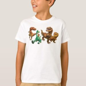 Arlo, Spot, and Ranchers In Field T-Shirt