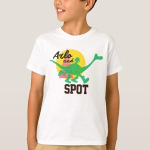 Arlo And Spot Sunset T-Shirt