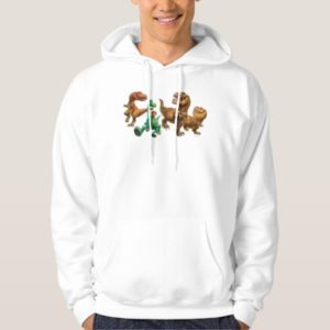 Arlo, Spot, and Ranchers In Field Hoodie