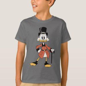 Scrooge McDuck   Work Hard Quack Hard T-Shirt