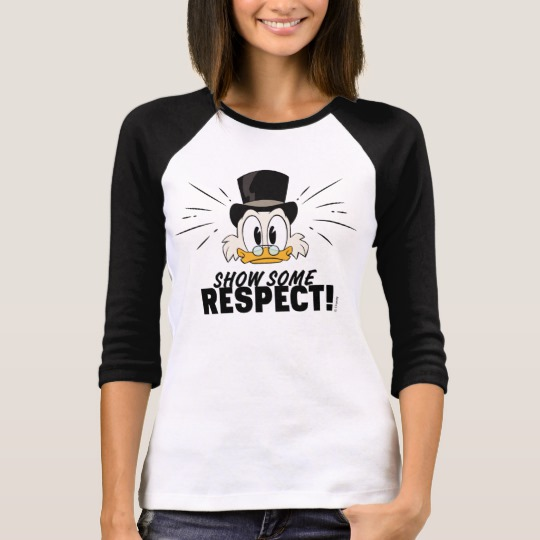 Scrooge McDuck | Show Some Respect! T-Shirt