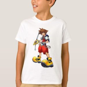 Kingdom Hearts | Sora Character Illustration T-Shirt