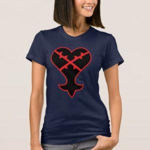 Kingdom Hearts   Emblem Heartless Symbol T-Shirt