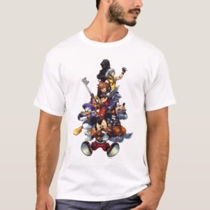 Kingdom Hearts: coded | Main Cast Key Art T-Shirt
