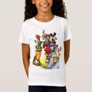 Kingdom Hearts: coded | Group Key Art T-Shirt