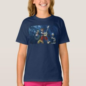 Kingdom Hearts | Sora, Goofy, & Donald Film Still T-Shirt