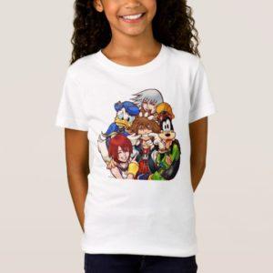 Kingdom Hearts | Main Cast Illustration T-Shirt