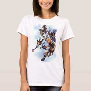 Kingdom Hearts: Birth by Sleep | Main Cast Box Art T-Shirt