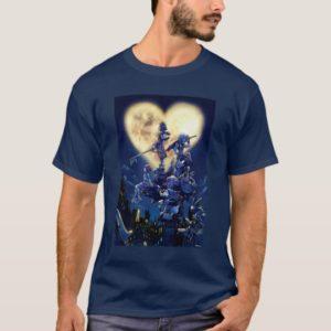 Kingdom Hearts | Heart Moon Box Art T-Shirt