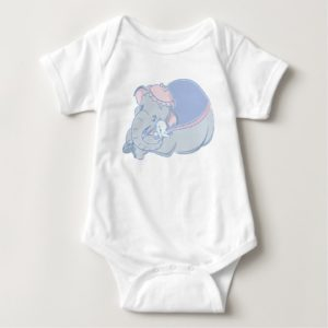 Dumbo and Jumbo Baby Bodysuit