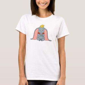 Dumbo Sitting Playfully T-Shirt