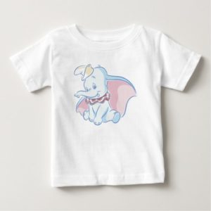Cute Dumbo Sketch Baby T-Shirt