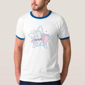 Dumbo sitting star background T-Shirt