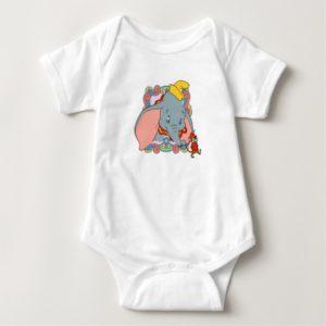 Dumbo Dumbo and Timot walking Baby Bodysuit