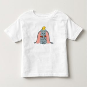Dumbo Sitting Playfully Toddler T-shirt