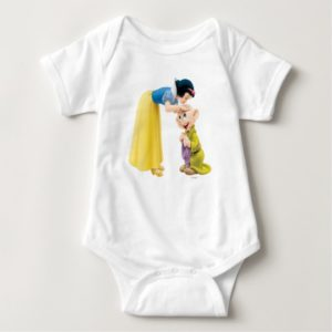 Snow White Kissing Dopey on the Head Baby Bodysuit