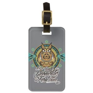 """""""It's a real Gronkle Fest out there"""" Tribal Emblem Bag Tag"""