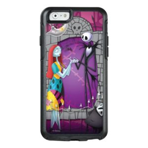 Jack and Sally Holding Hands OtterBox iPhone Case