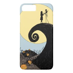 Jack and Sally | Moon Silhouette Case-Mate iPhone Case