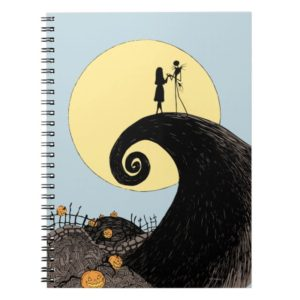 Jack and Sally | Moon Silhouette Notebook