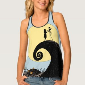 Jack and Sally | Moon Silhouette Tank Top