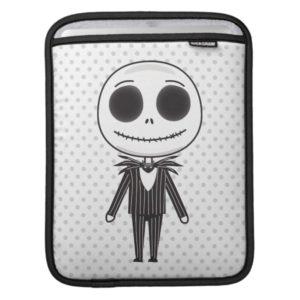 Jack Skellington Emoji iPad Sleeve