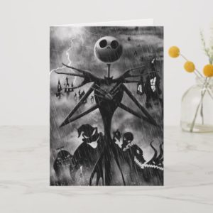 Jack Skellington | Ghostlike Charm Holiday Card