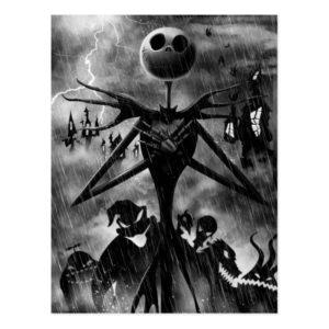 Jack Skellington | Ghostlike Charm Postcard