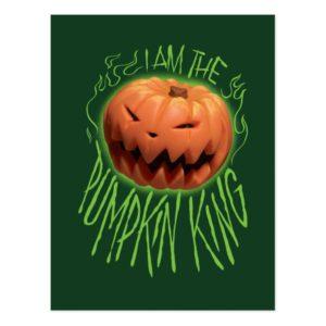 Jack Skellington | I Am The Pumpkin King Postcard