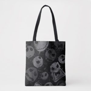 Jack Skellington Pattern Tote Bag