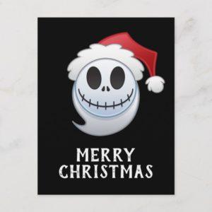 Jack Skellington Santa Emoji Holiday Postcard