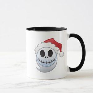 Jack Skellington Santa Emoji Mug