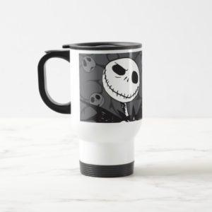 Jack Skellington | Skellington Background Travel Mug