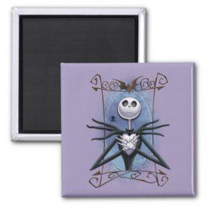 Jack Skellington | Spider Web Frame Magnet