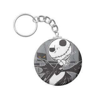 Jack Skellington | Spooky Eye Background Keychain